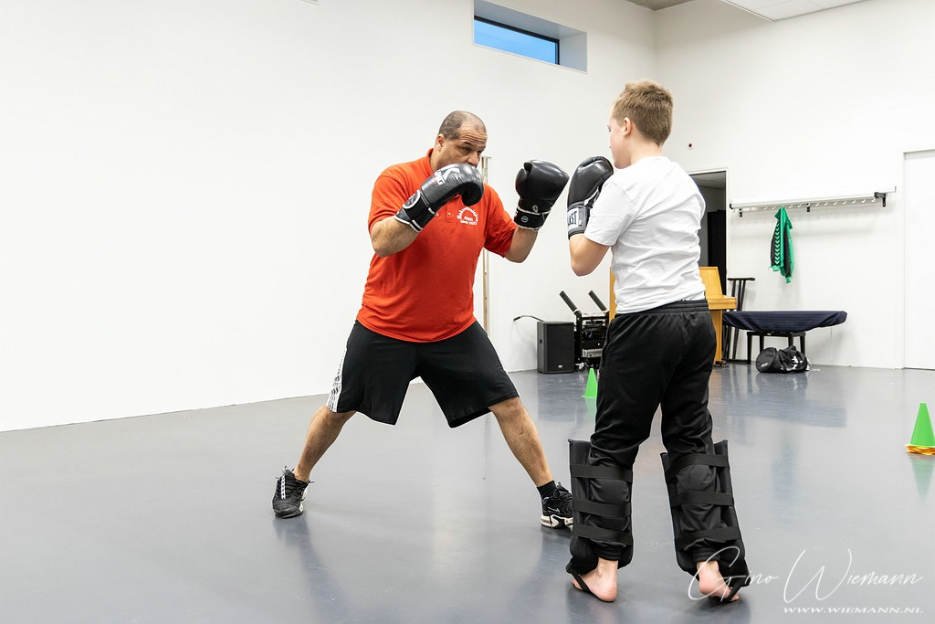 Kickboksen Michel Bos 15 januari 2020