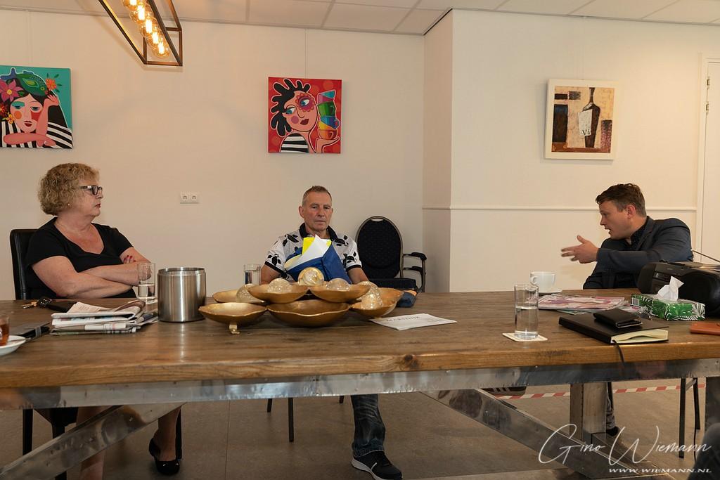 Wethouder Broekema op bezoek De Dissel 19 juni 2020 - Gino Fotografie