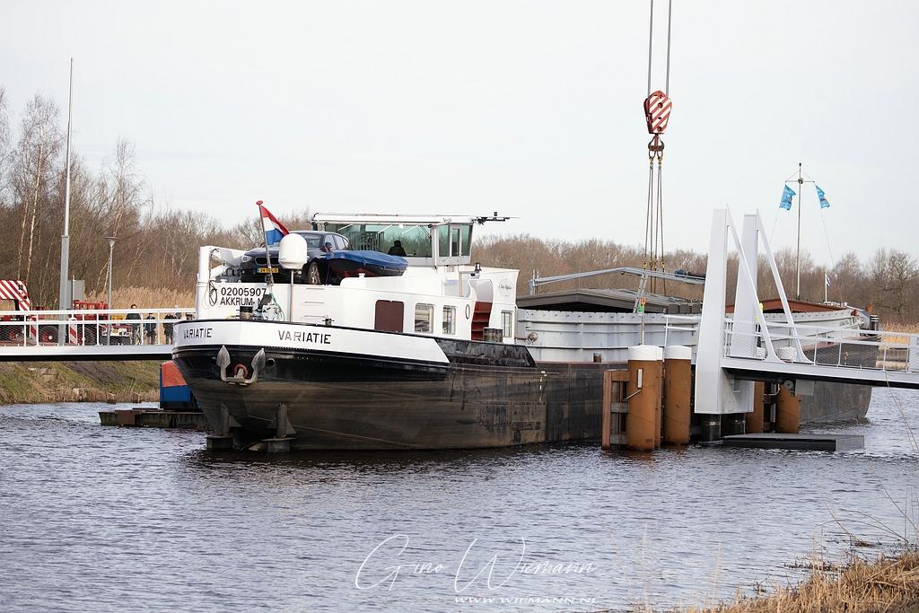 Plaatsing Enkeerdbrug Marsdijk 24 februari 2021 - Gino Wiemann