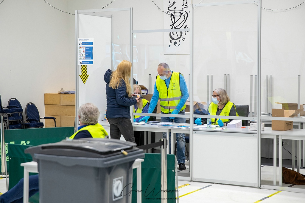 Stemmen in De Dissel 17 maart 2021 - Gino Wiemann